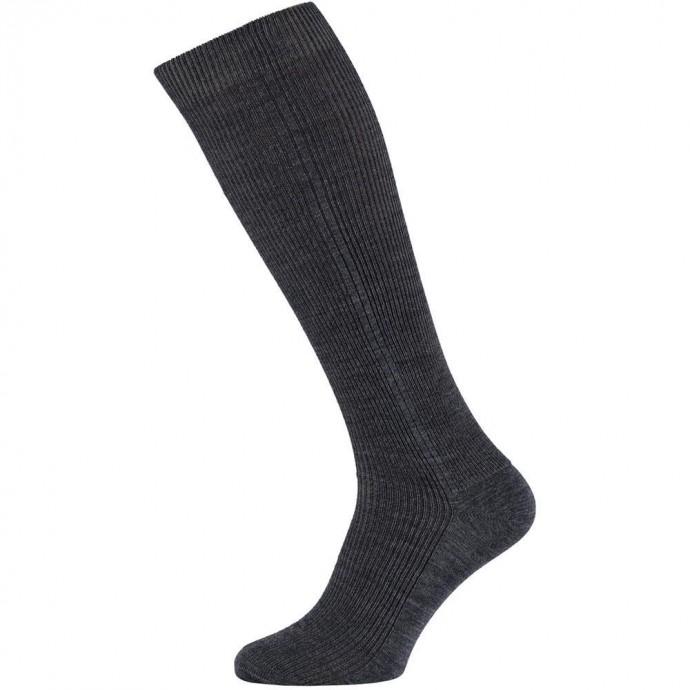 Heren kniekousen van wol-39/42-Medium jeans