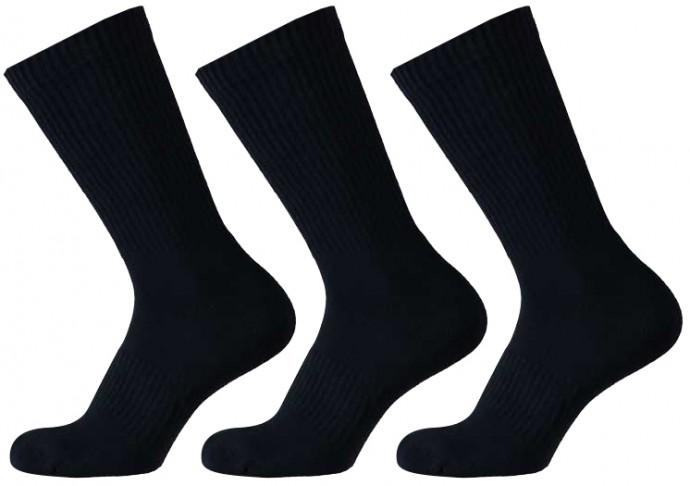 Sportsokken van elastisch katoen-36/41-Black