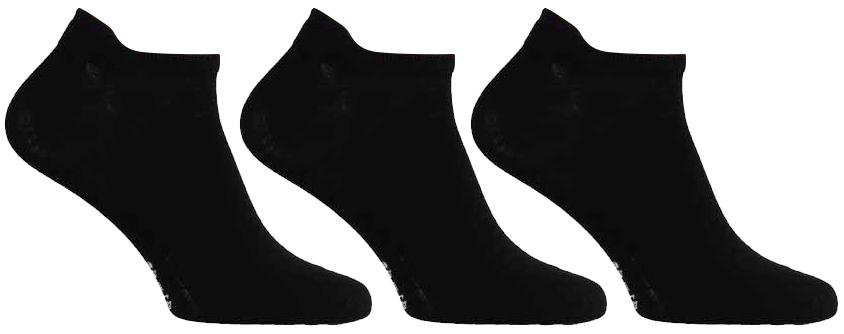 Sneakersokken van Katoen -Black-41/46