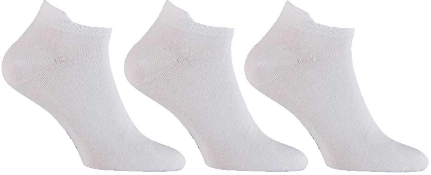 Sneakersokken van Katoen -White-36/41