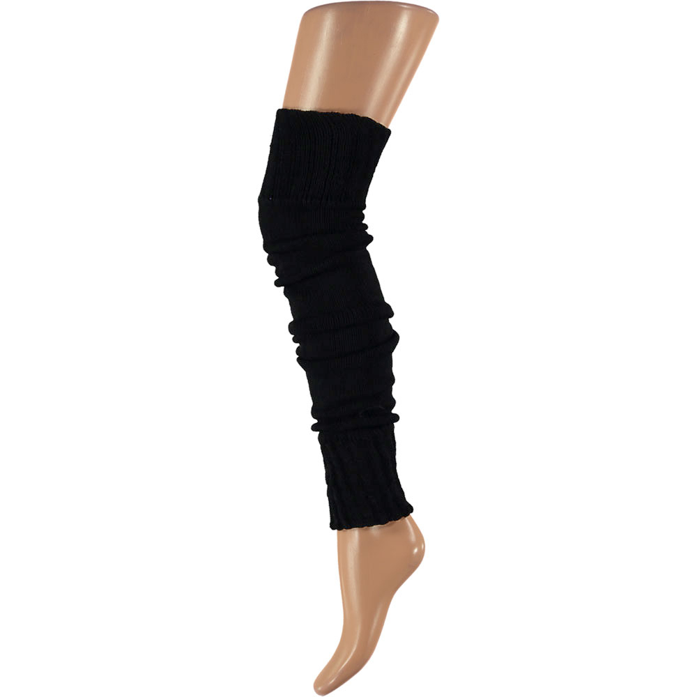Overknee beenwarmers-One-size-Black