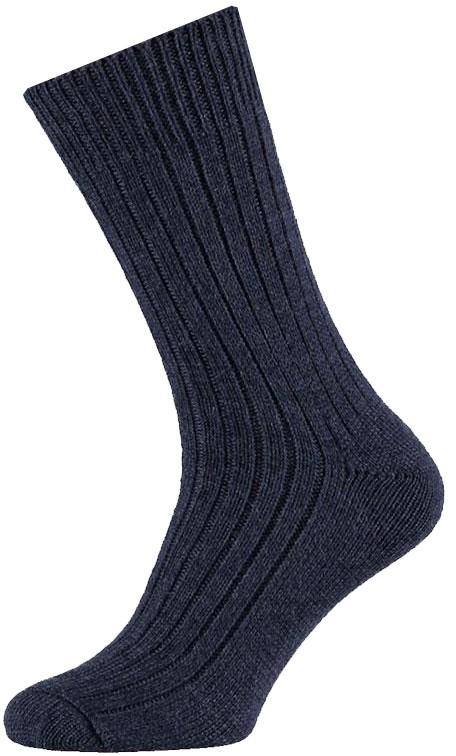 Wollen werksokken met meraklon-42/45-Dark jeans