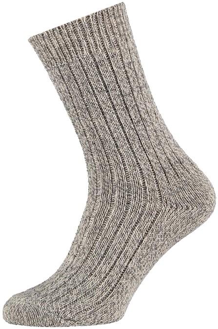 Wollen werksokken met meraklon-48/50-Noors grey
