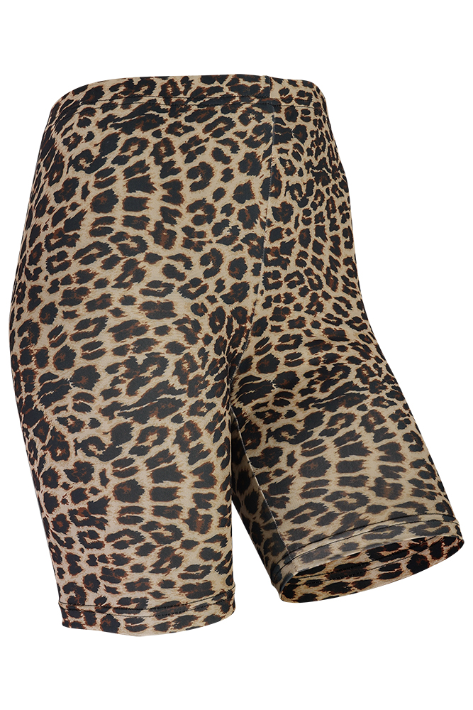 Short legging dames Leopard-L/XL