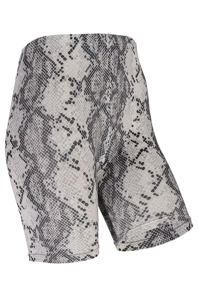 Short legging dames snake-L/XL