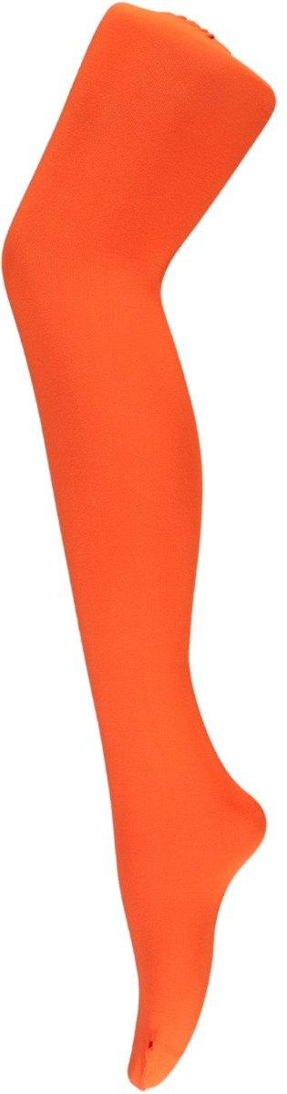 60 denier dames panty van microfiber-L/XL-Fluor orange