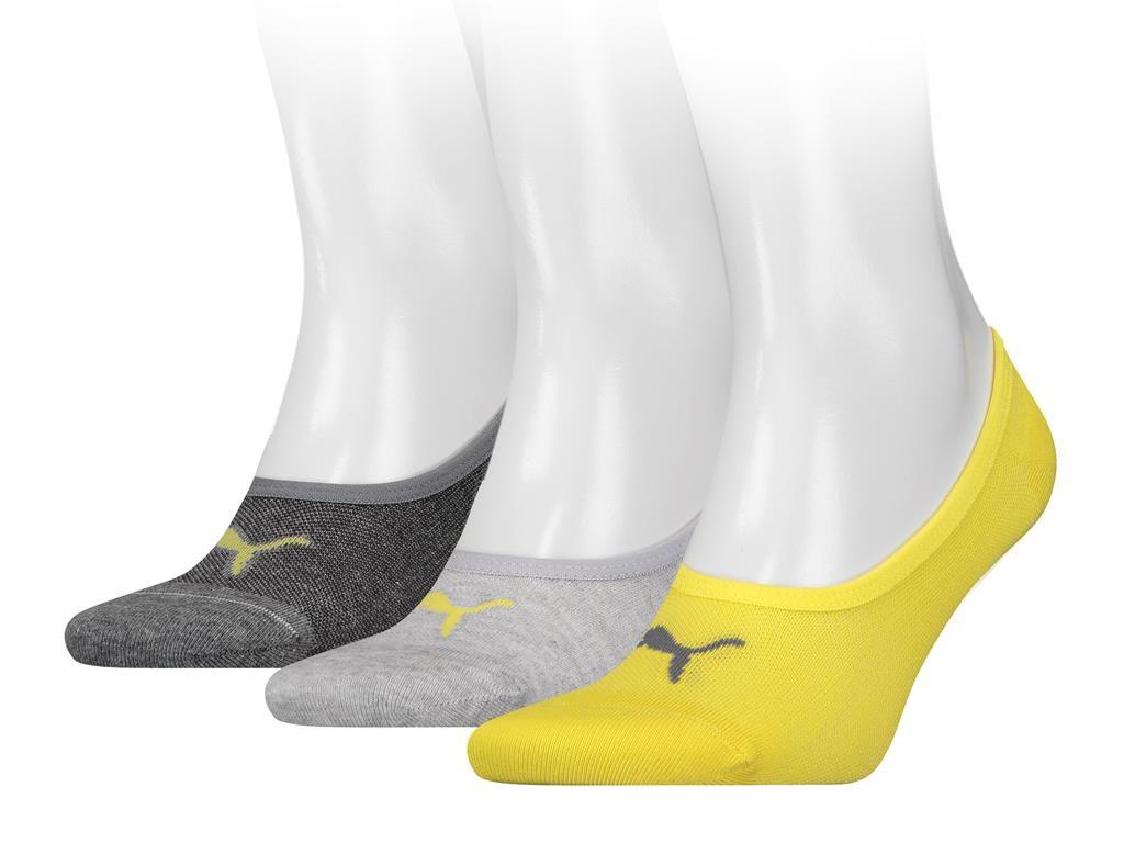 Puma Footies no show-43/46-Yellow