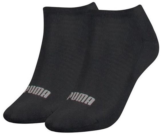 Dames sneakersokken met badstof zool-35/38-Black