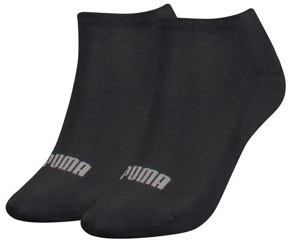Dames sneakersokken met badstof zool-39/42-Black