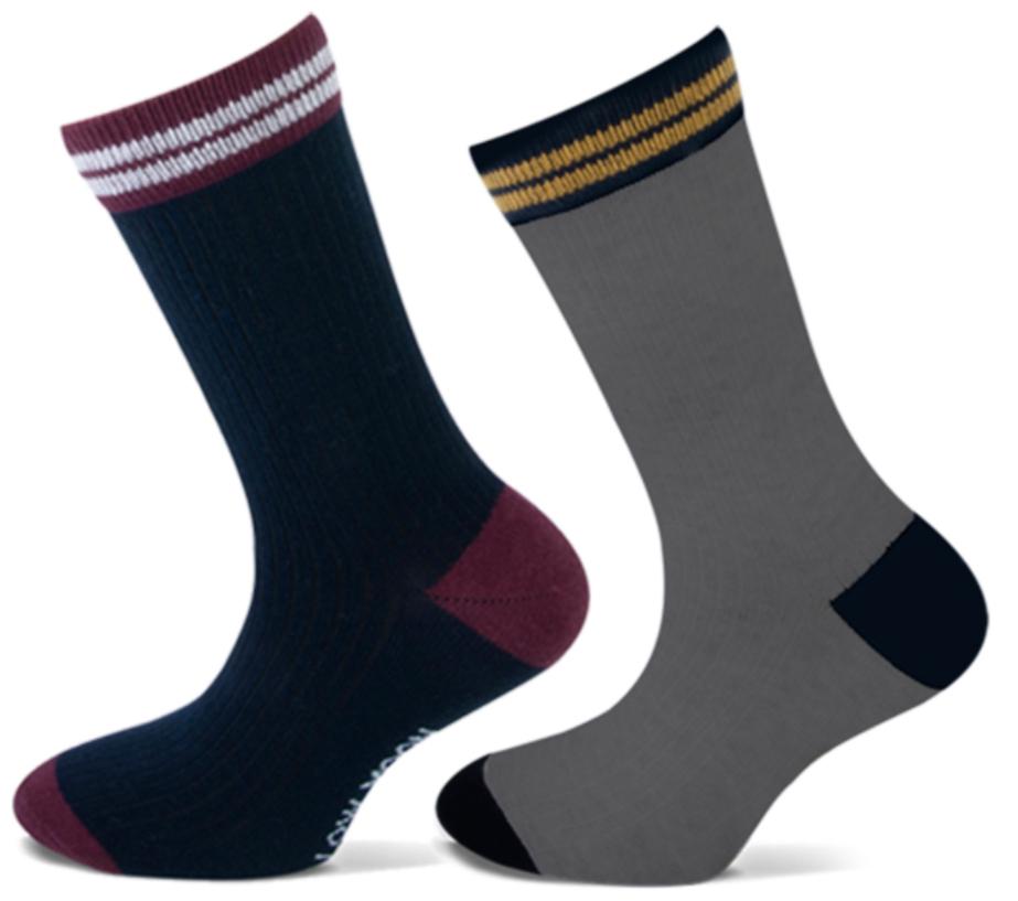 Katoenen Jongens sokken met rib -31/34