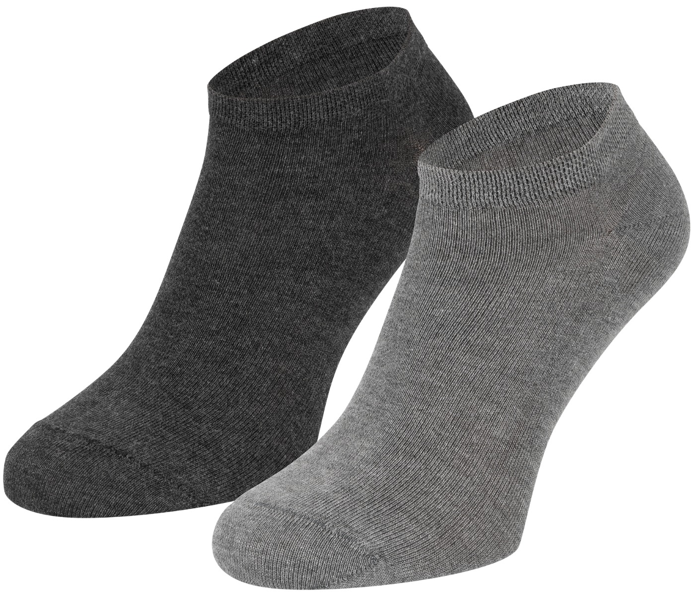 Bamboe sneakersokken-Light grey dark grey-36/40