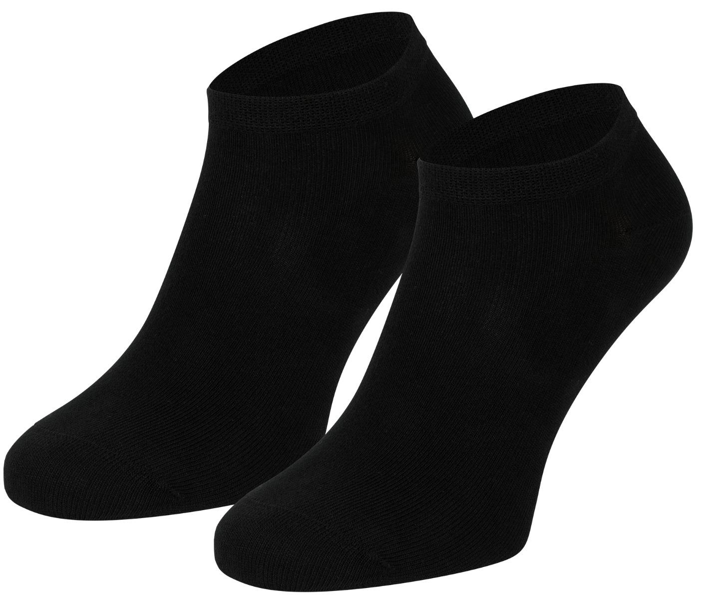 Bamboe sneakersokken-Black-31/35