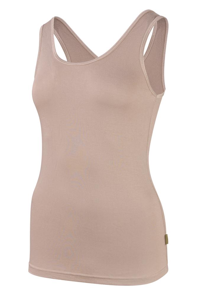 Bamboe dames hemd -XL-Skin