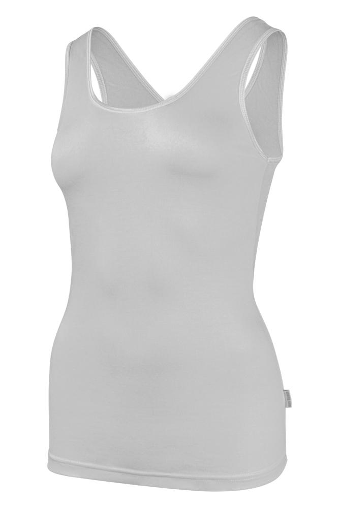 Bamboe dames hemd -M-White