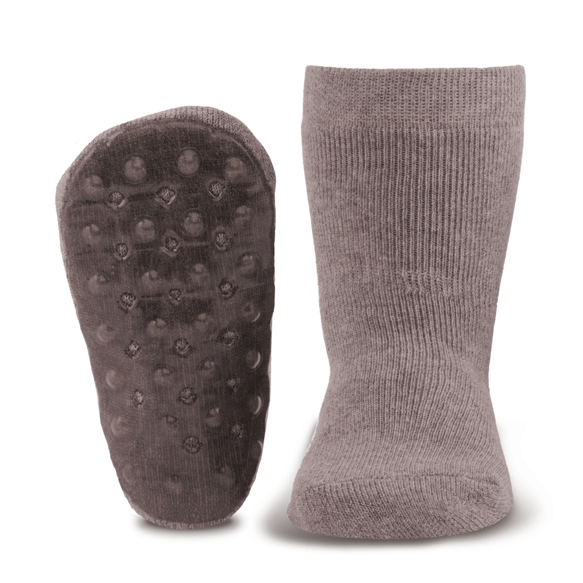 Antislip sokken -43/45-Grey melange