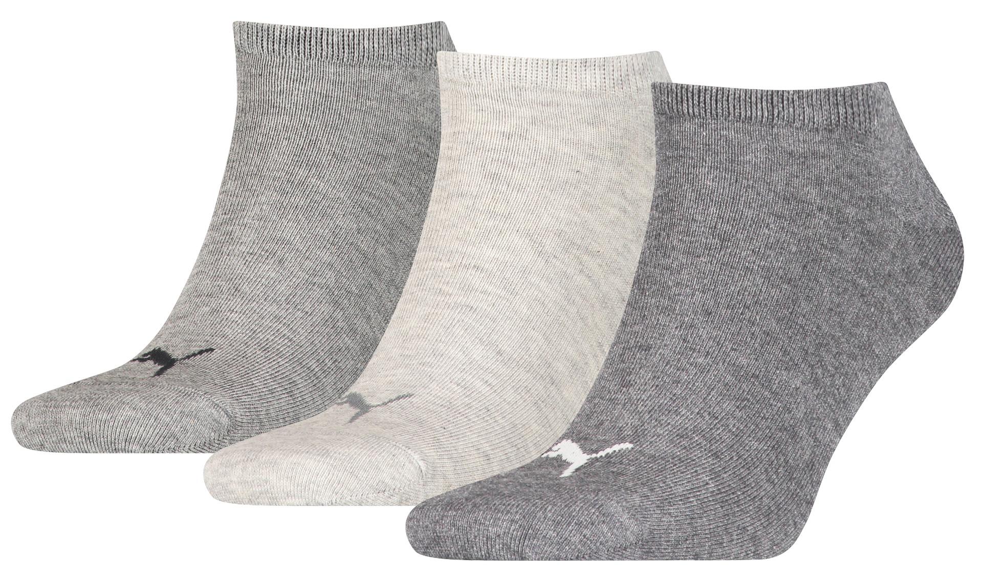 sneakersokken van zacht katoen-43/46-Light grey melange