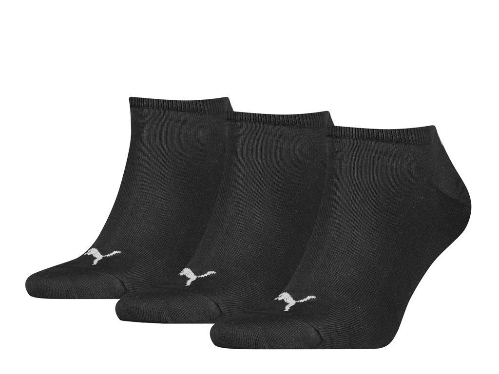 sneakersokken van zacht katoen-47/49-Black