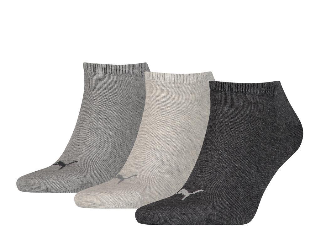 sneakersokken van zacht katoen-39/42-Grey melange
