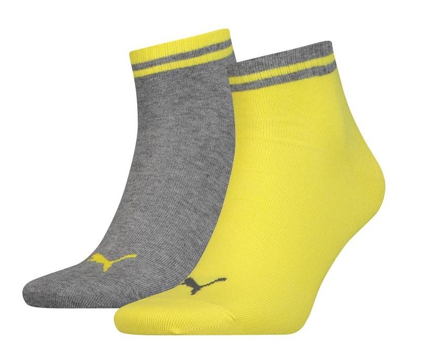 Heritage quarter sokken-Yellow-39/42