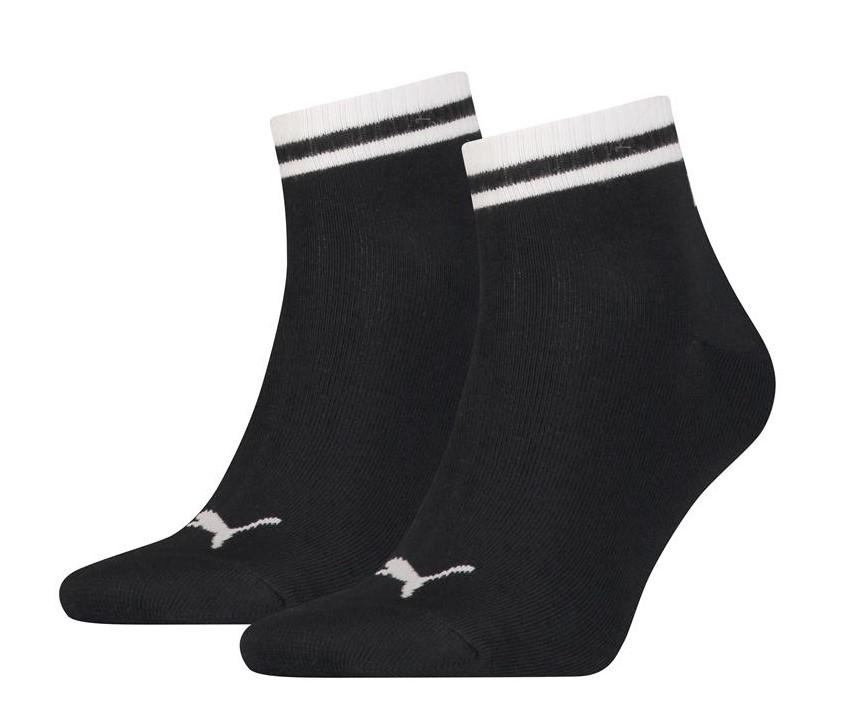 Heritage quarter sokken-Black-39/42