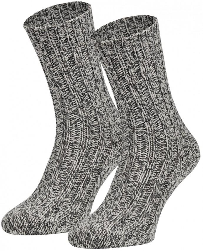 Noorse wollen sokken-46/47-Grey