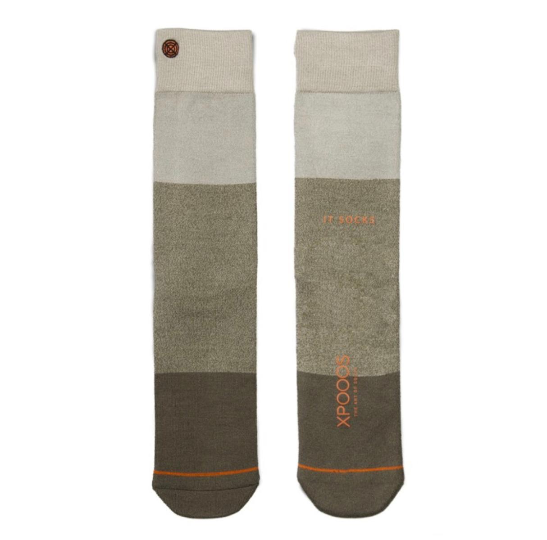 Essential bamboe sokken-39/42-Khaki