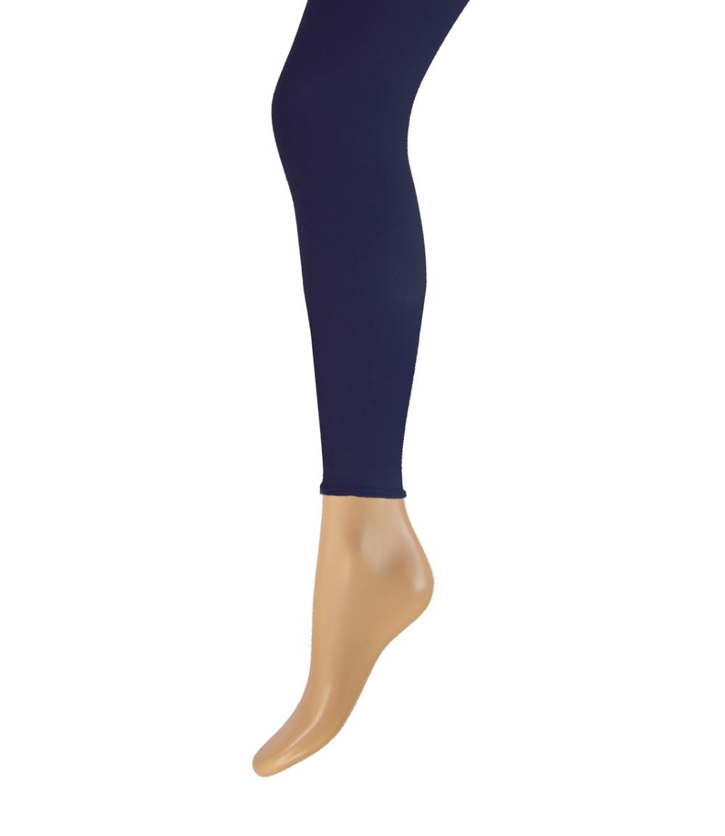 100 denier lange dames legging-XXL-Marine