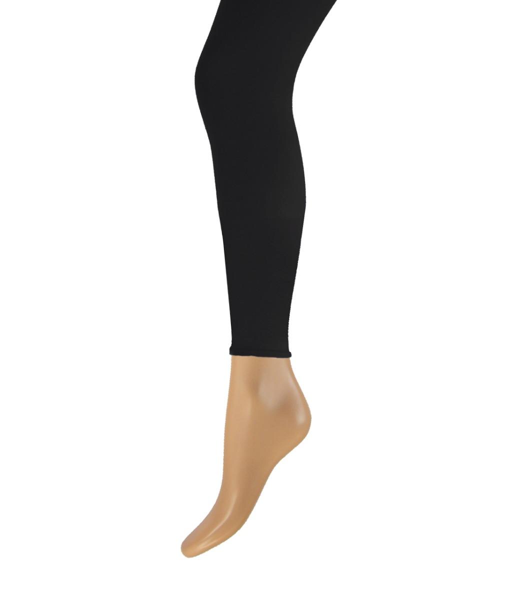 100 denier lange dames legging-XXL-Black