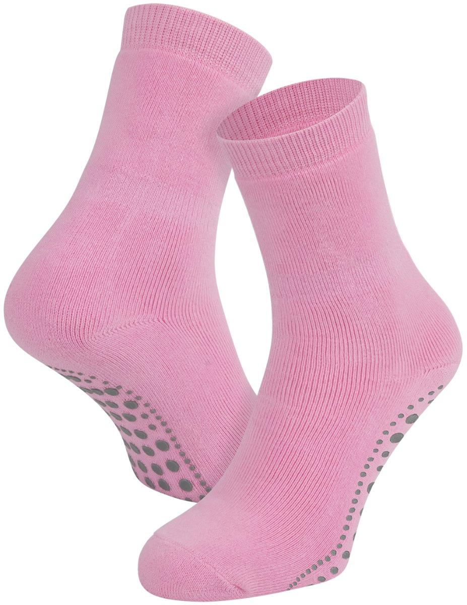 Antislip sokken van katoen-Light rose-35/38