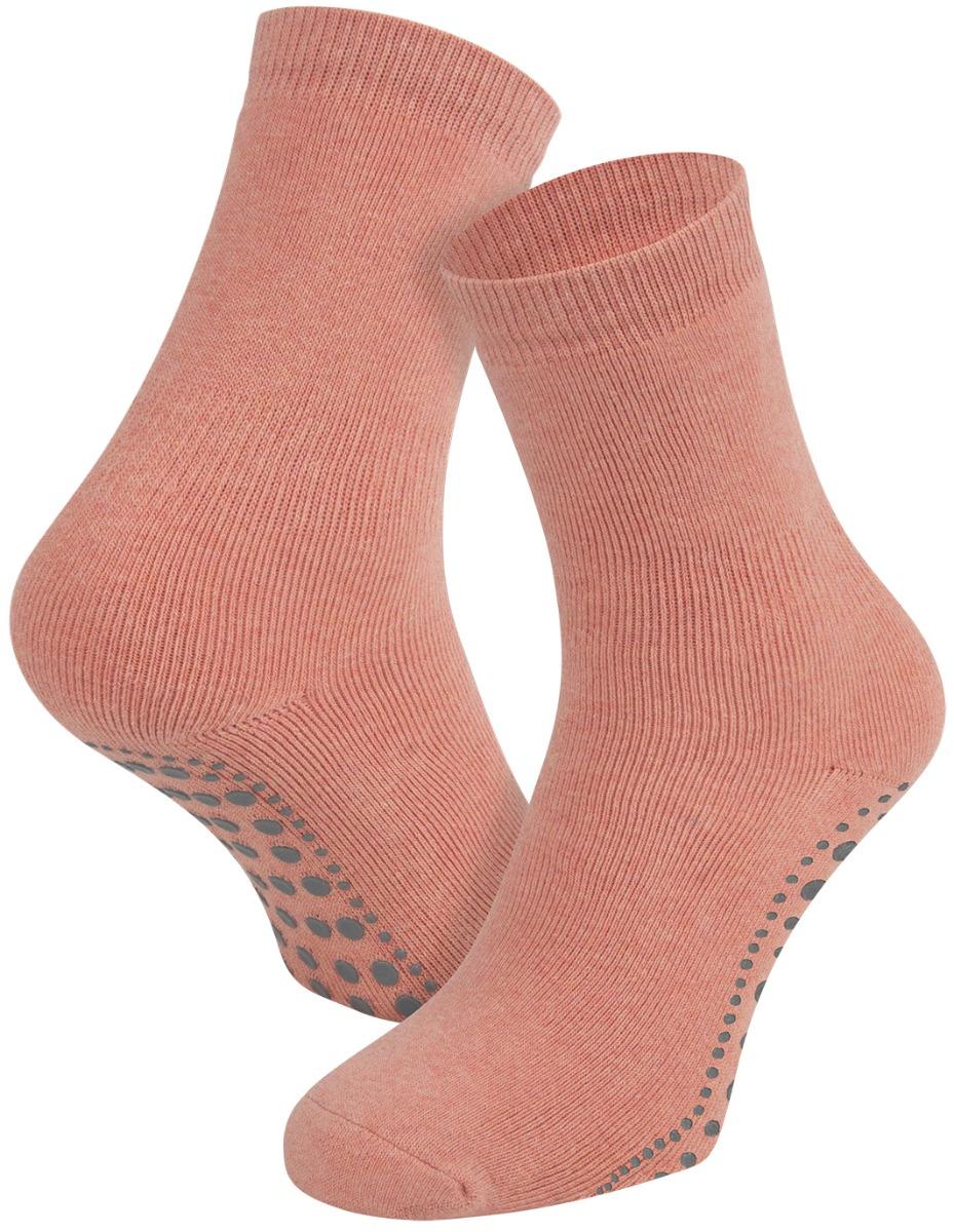 Antislip sokken van katoen-Peach melee-35/38