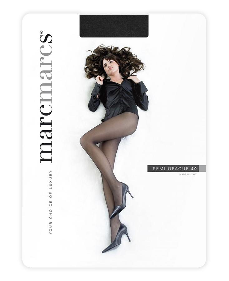Semi opaque 40 denier panty-S-Antraciet