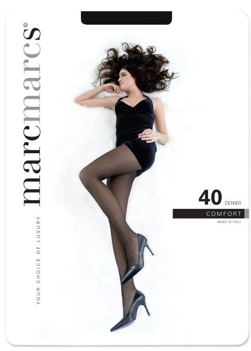 40 denier panty opaque comfort.-Almost black-L