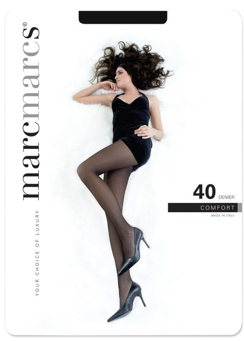 40 denier panty opaque comfort.-Black-L