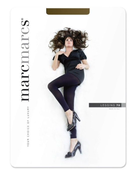 70 denier legging opaque-L/XL-Nearly black