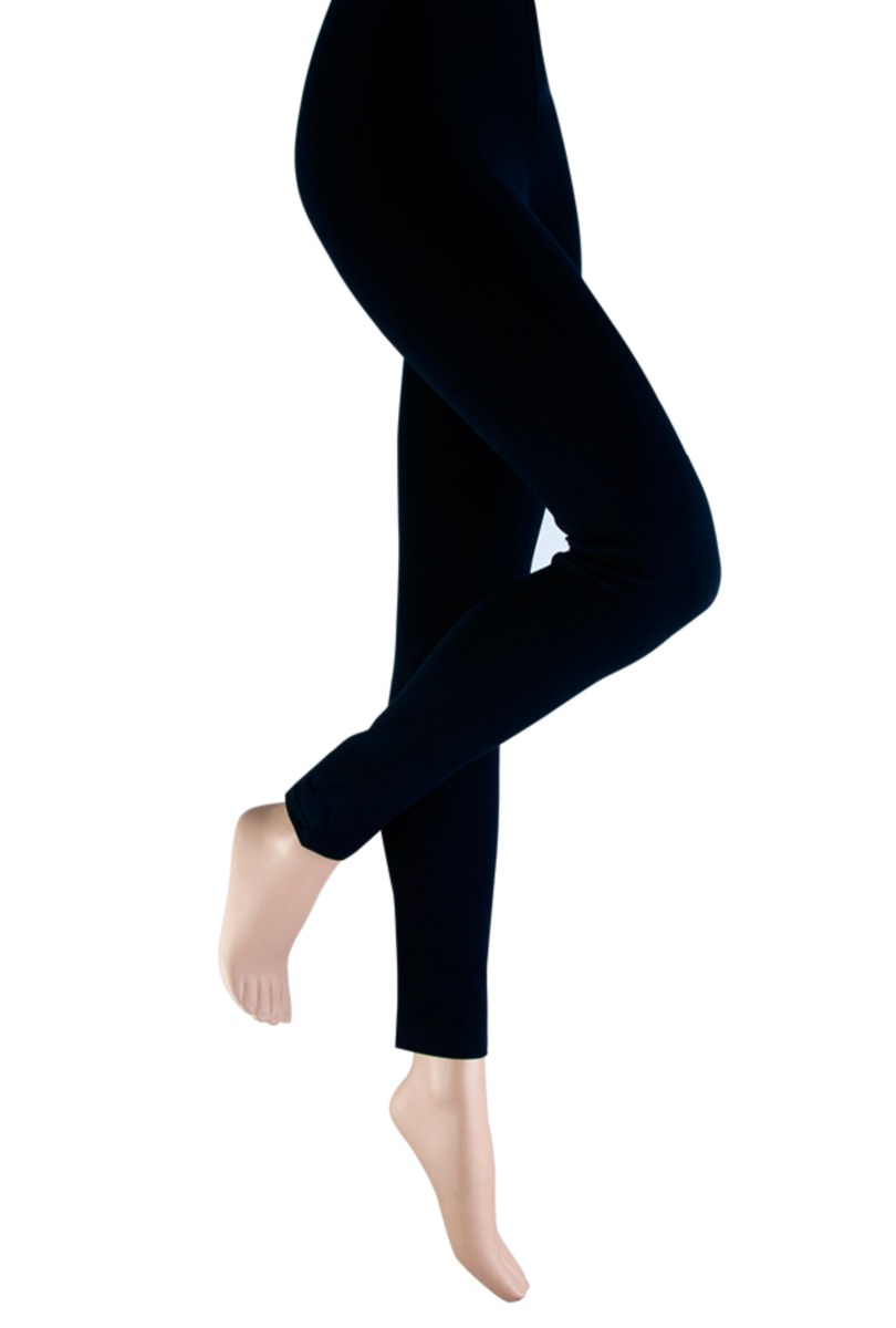 Dames legging van katoen-S-Black