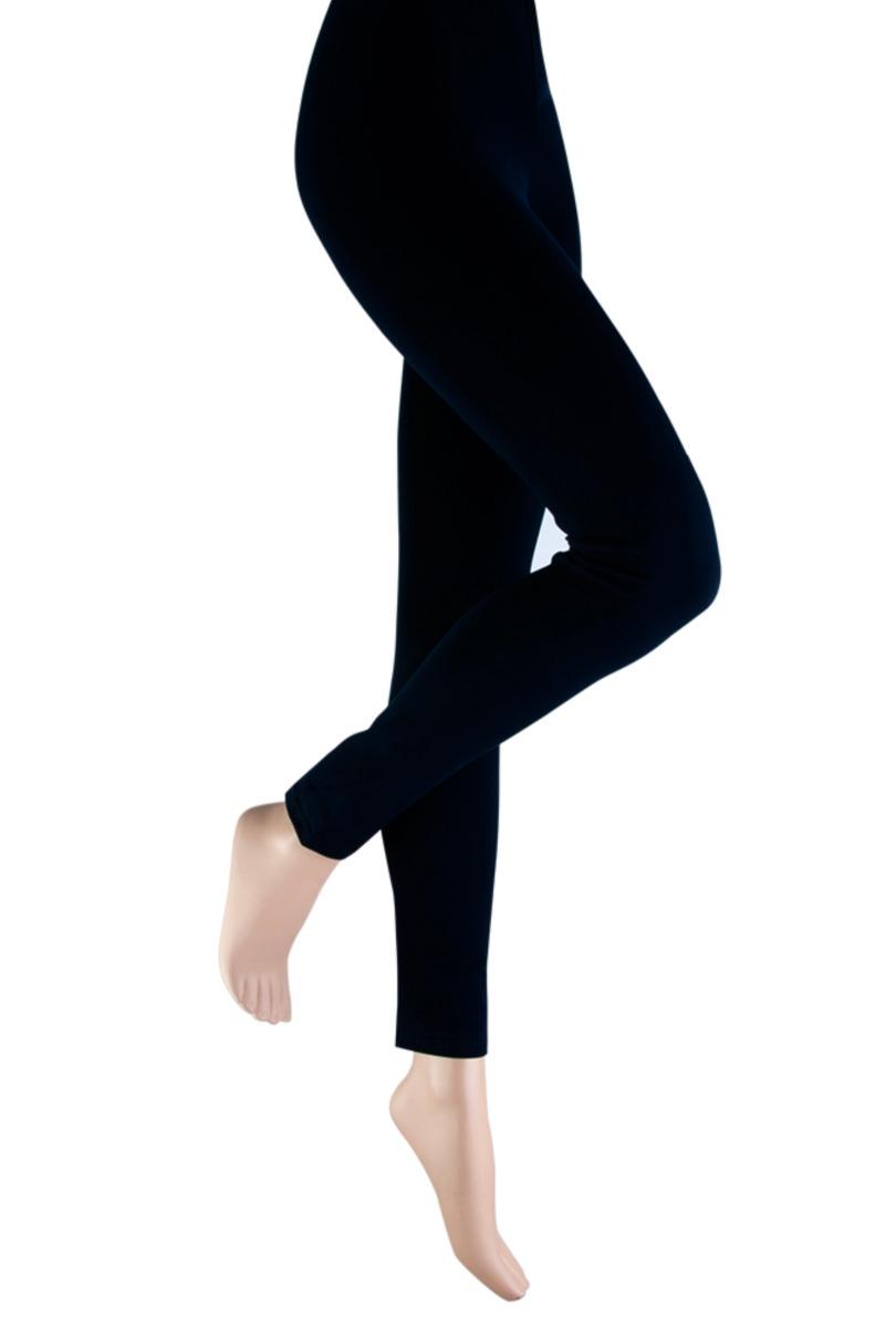Dames legging van katoen-L-Black