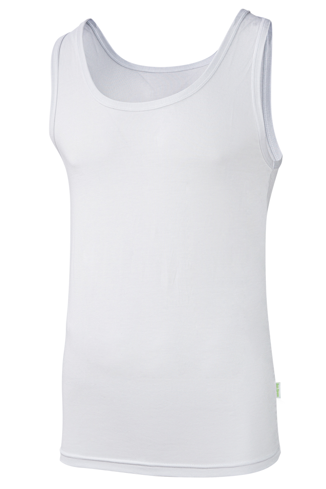 Bamboe heren hemd-XXL-White