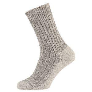 Wollen sokken met vilt zool