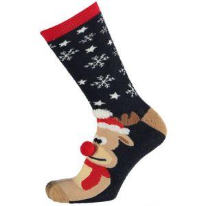 Kinder Kerstsokken antislip Rudolf het rendier