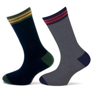 Katoenen Jongens sokken met rib
