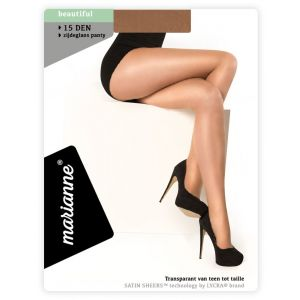 15 denier satin sheers panty van lycra