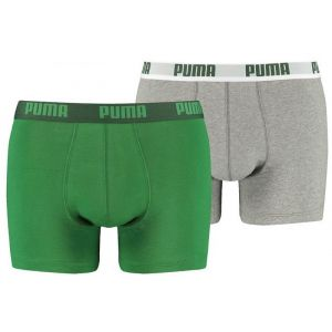 2-pack basis boxershorts puma AMAZON GREEN
