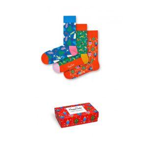 Happy socks PLAYING CHRISTMAS GIFT BOX