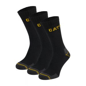CAT werksokken 3-pack black
