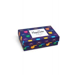Mixed cat sokken giftbox 3-pack
