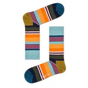 Happy socks met multi strepen