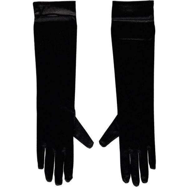 Gala handschoen 40 cm van Satijn