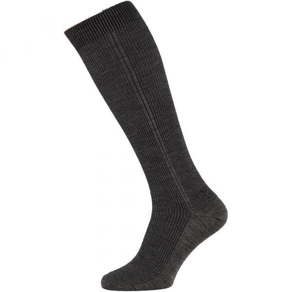 Dunne wollen heren kniekousen   Angro   sokken-online