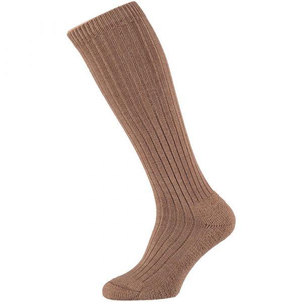 Wollen heren kniekousen met badstofzool    angro   sokken-online