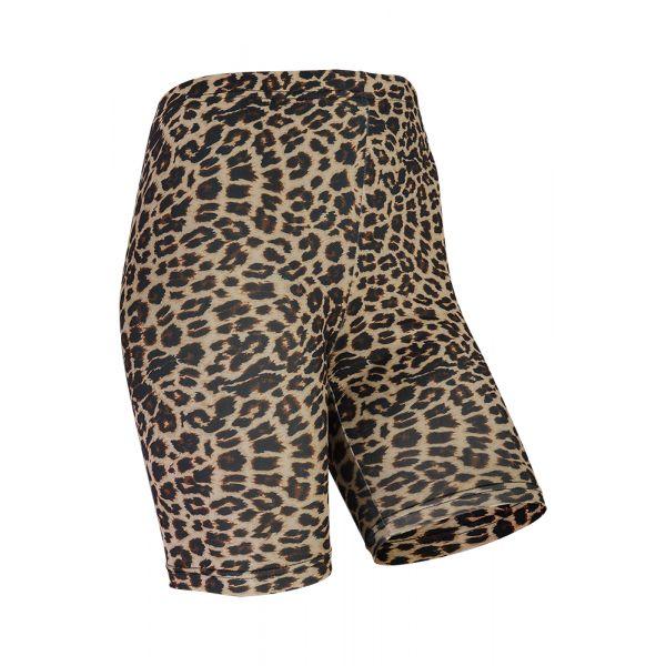 Short legging dames Leopard
